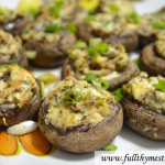 Special Stuffed Mushrooms