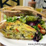 Veggie-loaded Quiche
