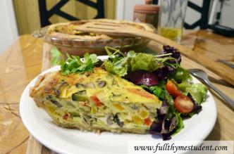 vegetarian quiche