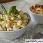 Quick Macaroni and Cheese in under 15 minutes (and it ain't neon orange)