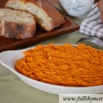 Mashed Sweet Potatoes in 20 minutes