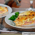 Toaster Oven Croque Monsieur (French ham and cheese sandwich) in 20 minutes