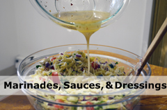 Marinades Sauces Dressings